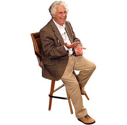 Roy sitting