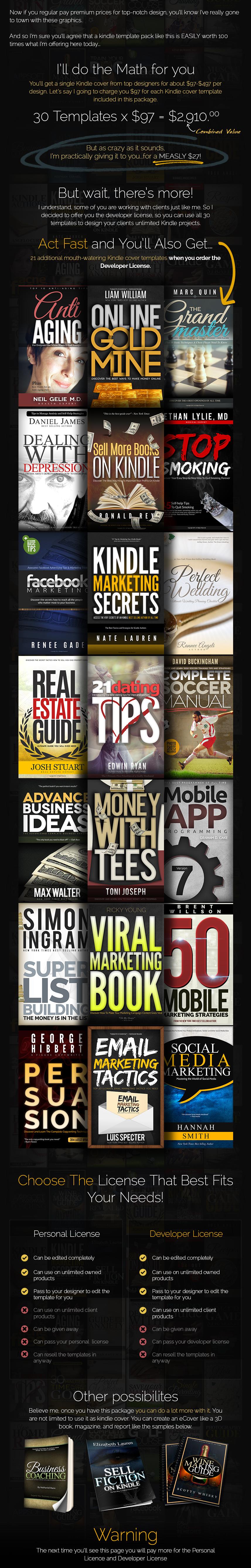 Premium Kindle Cover