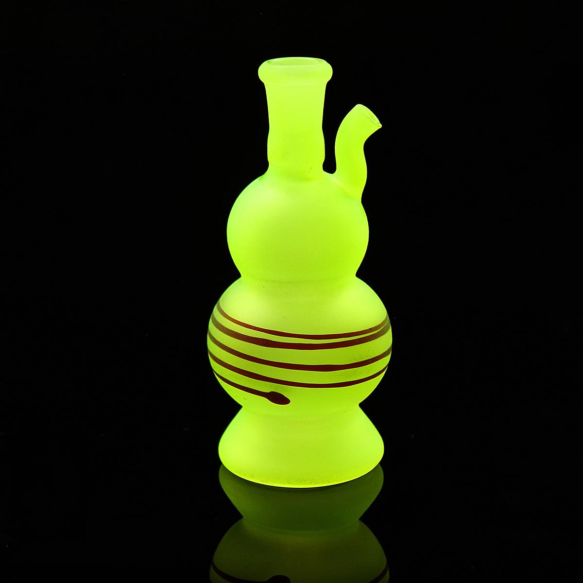 Other Gadgets 90mm Night Luminous Epoptic Glass Hookah