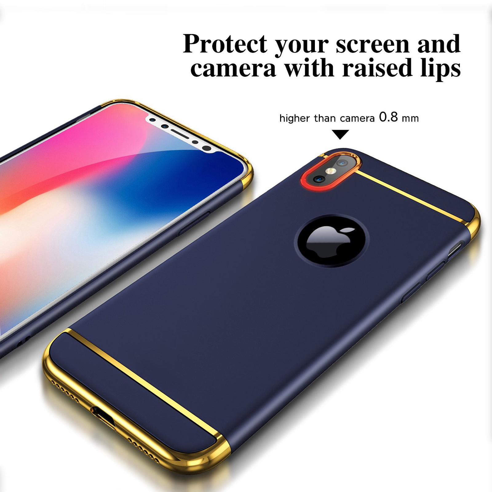 Luxury-Matte-Case-Tempered-Glass-Cover-For-Apple-iPhone-X-XS-XR-Max-10-8-7-6s-6 thumbnail 67