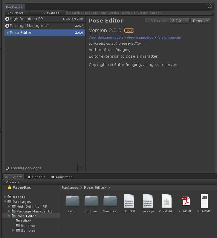 エディター拡張を Unity Package Manager に対応させる
