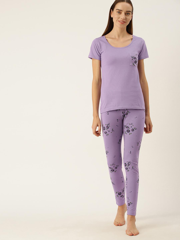 Slumber Jill Lavender Pyjama set