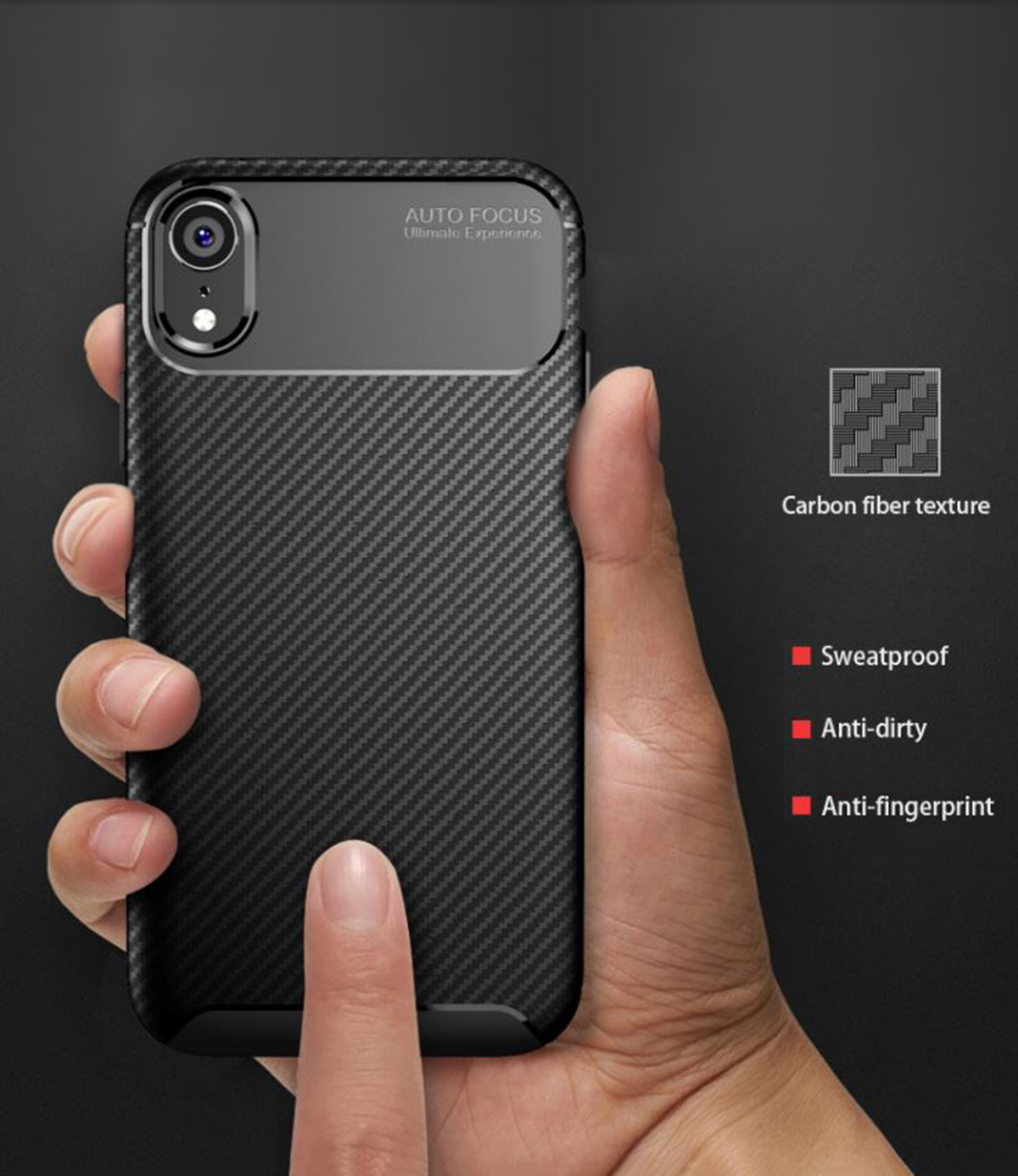 Case-for-iPhone-Carbon-Fibre-Soft-Cover-TPU-Silicone-Slim-11-X-XR-Max-8-7-6-Plus thumbnail 14