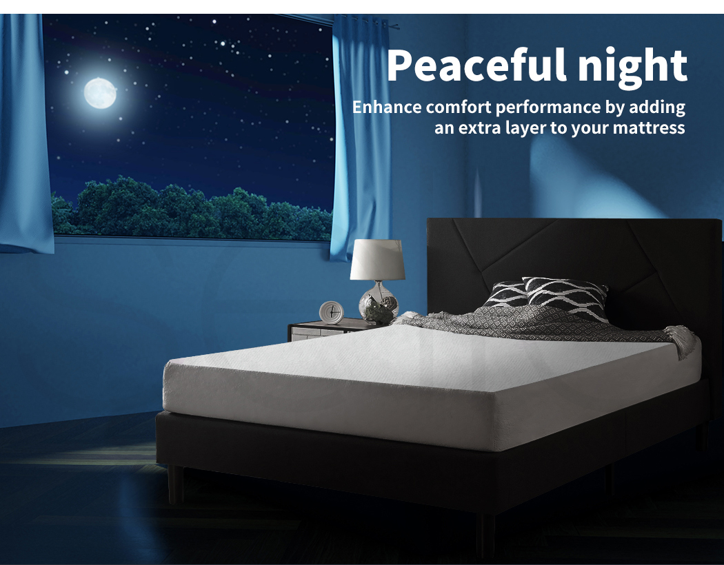 DreamZ-Mattress-Protector-Topper-Bamboo-Fabric-Waterproof-Double-Queen-King-Size thumbnail 15