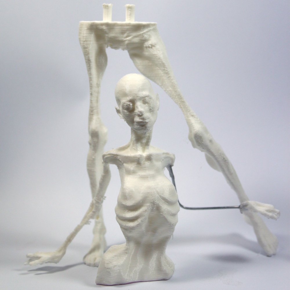 3d printed ooak armature core