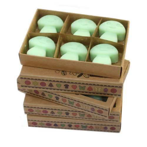 Soy wax melts in gift box - liquorice