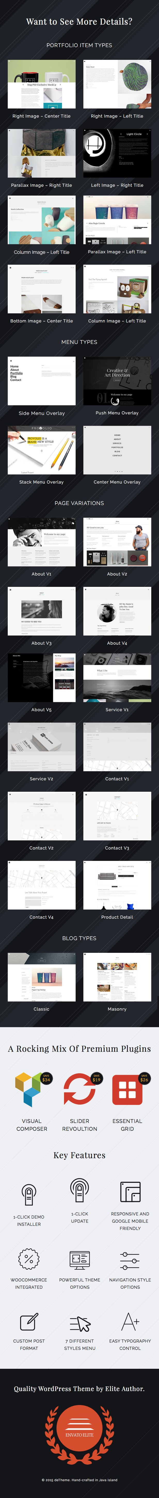 Provolio - WordPress Theme For Creative Minds