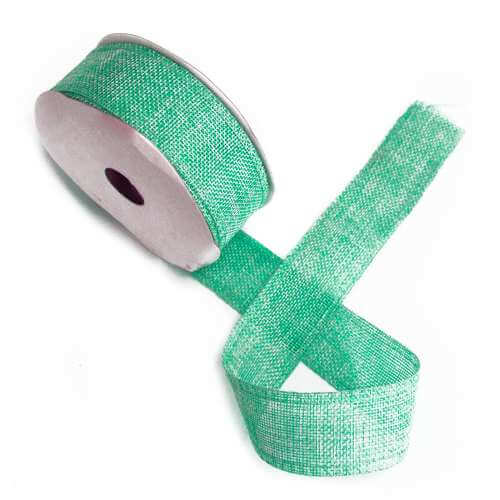 gift ribbon textured - aqua - 38mm x 20m