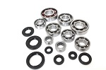 Complete Engine Bottom End Bearings Seals Kit YFS200 Blaster 1988 1989 1990 1991
