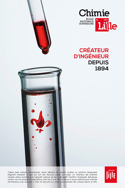 Affiche Chimie Lille