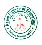 Adam College of Education, Hyderabad