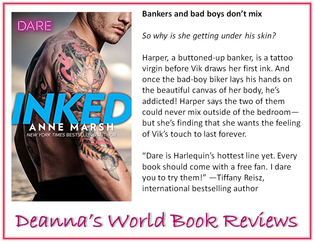 Inked by Anne Marsh blurb