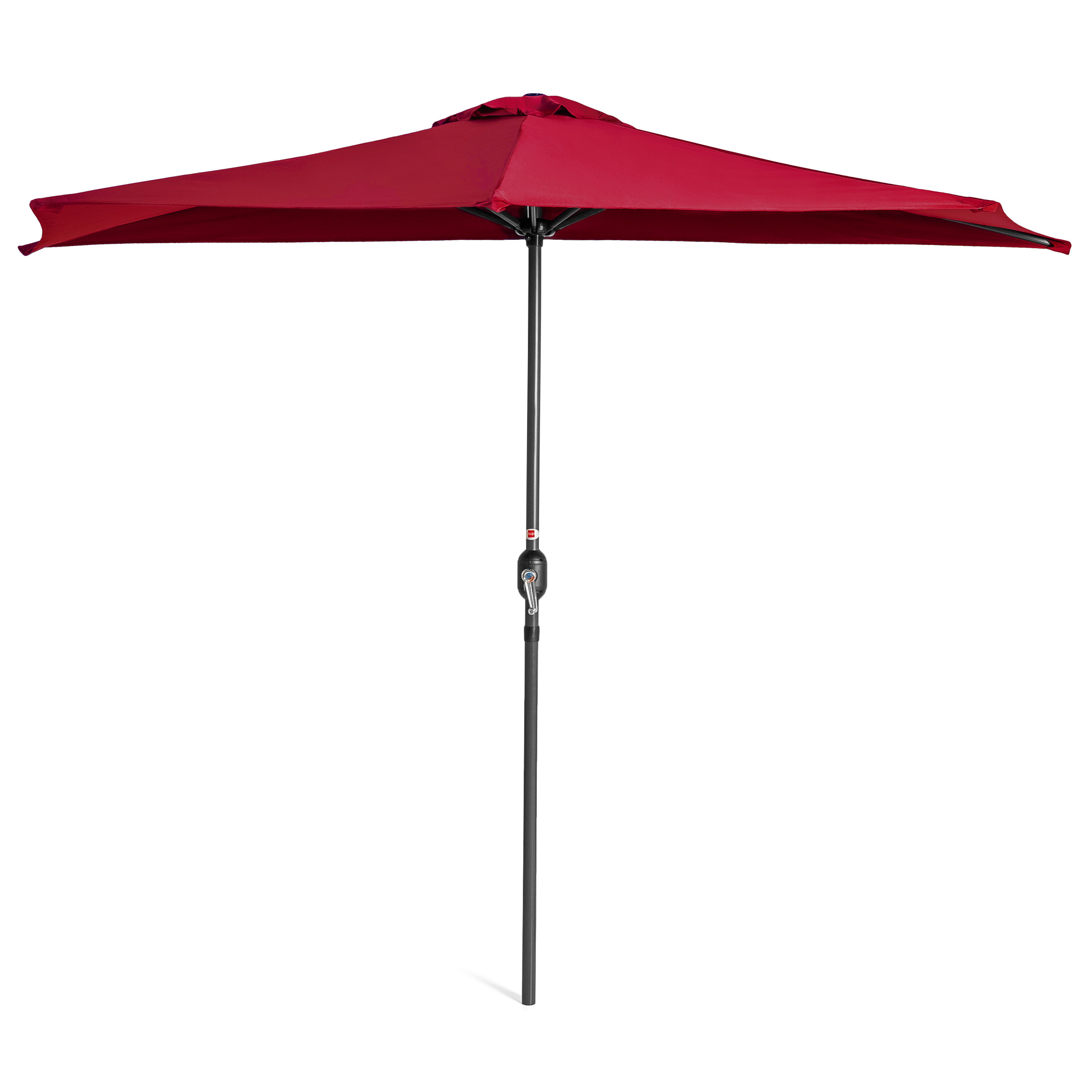 BCP-9ft-Half-Patio-Umbrella-w-Crank-Steel-Frame-UV-amp-Water-Resistant-Fabric thumbnail 27
