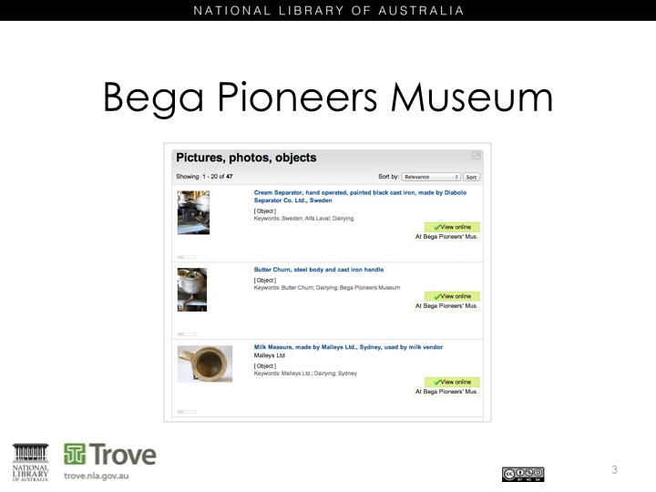 Bega Historical Museum