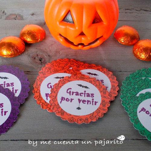 Etiquetas y pegatinas para la fiesta de Halloween