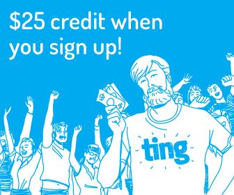 ting $25 credit