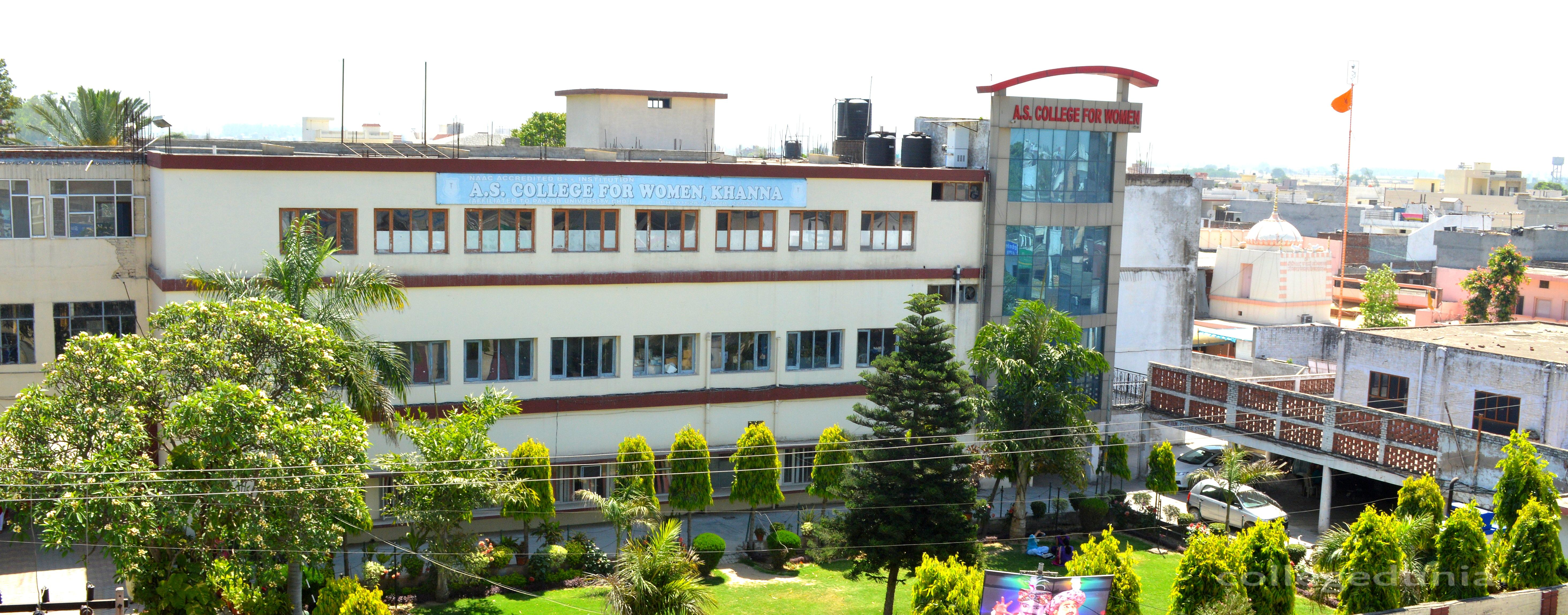 A.S. College for Women, Khanna Image