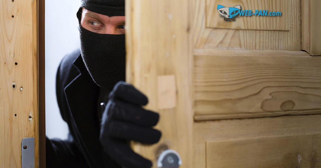 Защита от вора - сигнализация в доме, ещё бы монтажники были с нормальными руками!