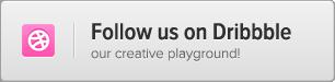 btn dribbble Zancudo   Mighty fullscreen theme for creatives (Photography)