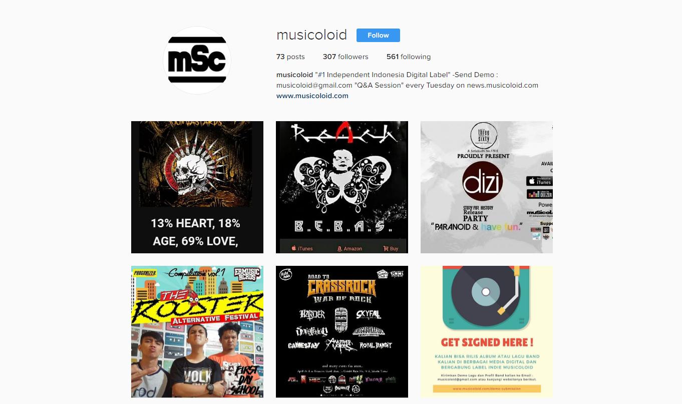 instagram musicoloid