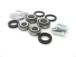 DLR Upgrade! Tapered Front Wheel Bearings and Seals Kit Suzuki LT-R450  LTR450 2006-2008