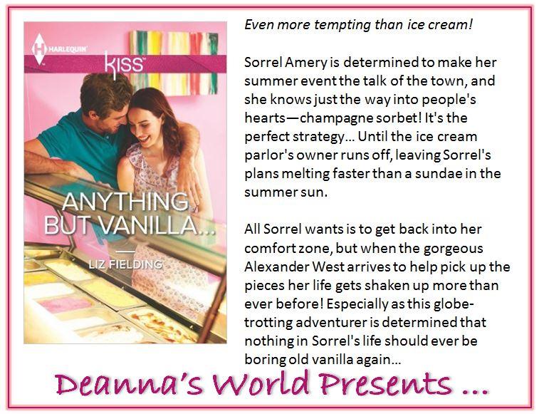 Anything but Vanilla by Liz Fielding blurb