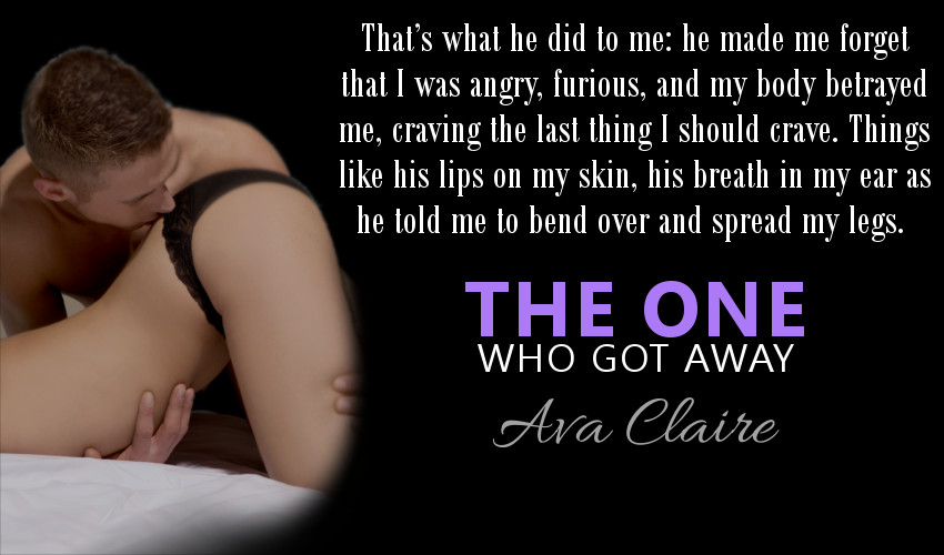 The One Who Got Away by Ava Claire teaser 2