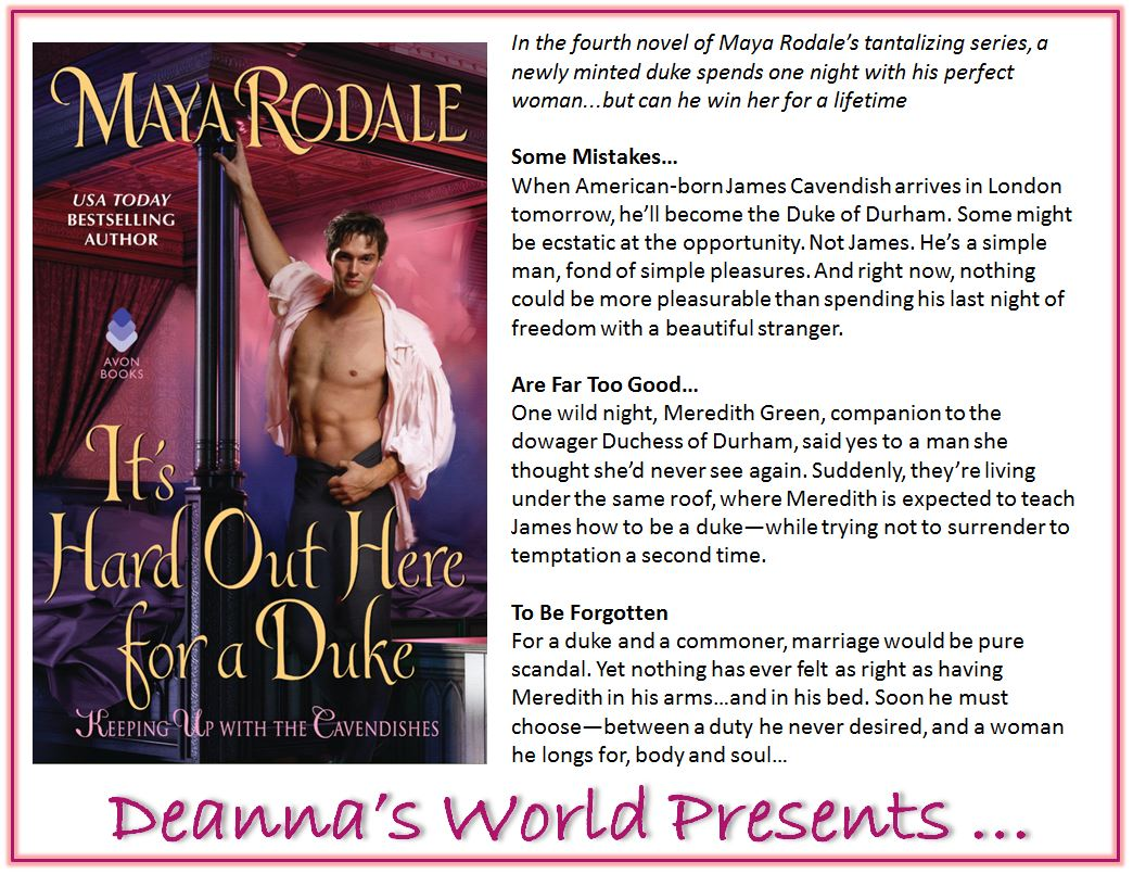 It's Hard Out Here For A Duke by Maya Rodale blurb