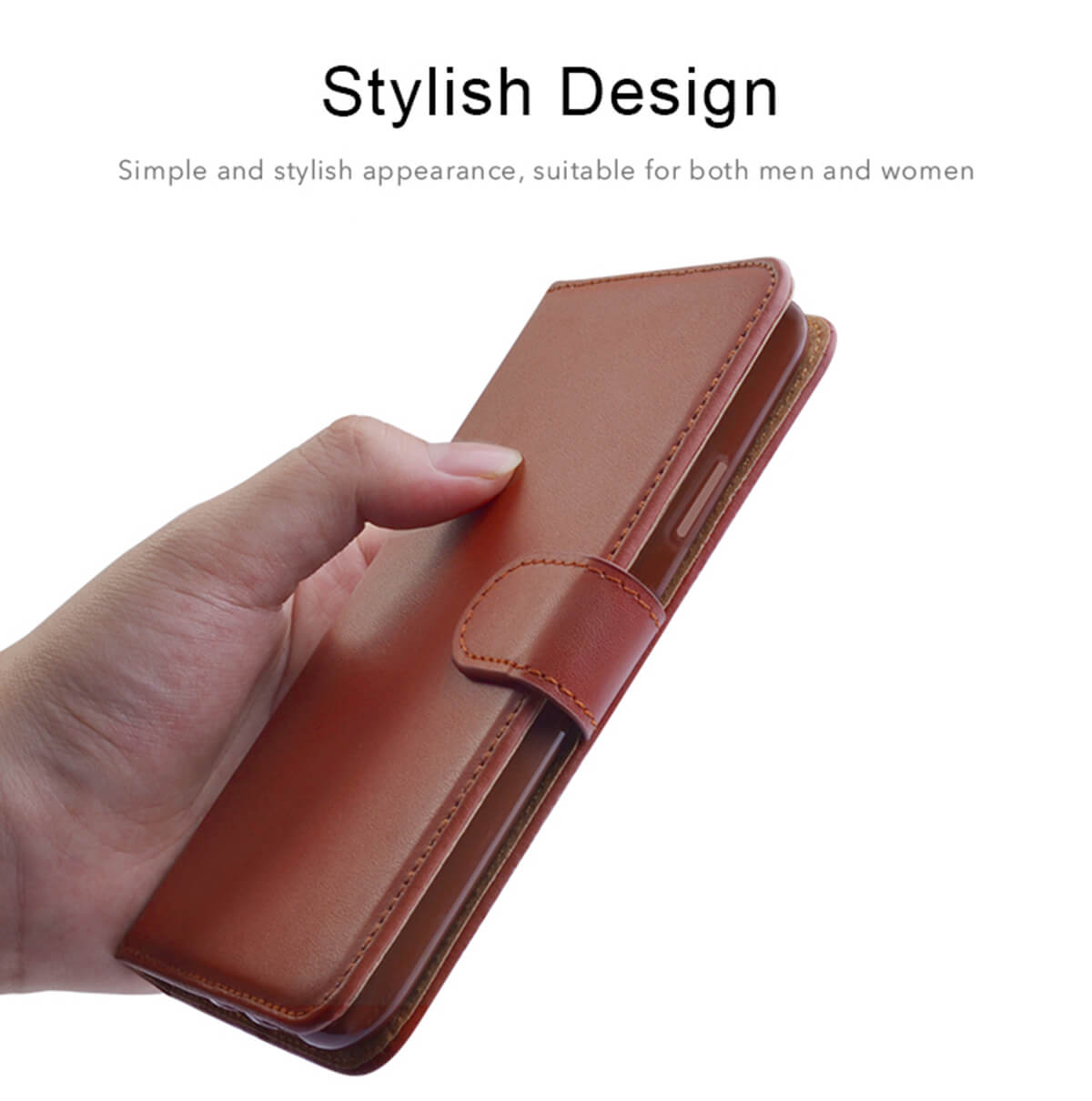 Leather-Flip-Wallet-Magnetic-Case-Cover-For-Samsung-Galaxy-S10-Plus-S9-S8-A50 thumbnail 20