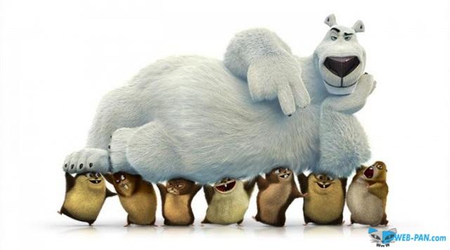 Новый мультфильм про медведя Норма и Несокрушимых леммингов!