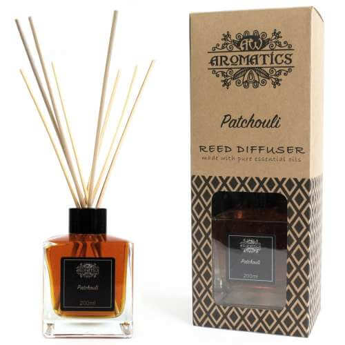 essential oil reed diffuser - patchouli