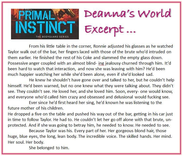 Primal Instinct by Tara Wyatt excerpt