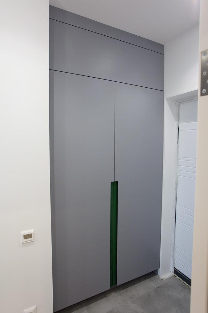 шкаф в прихожую встроенный мебель ремонт современный интерьер дизайнерский