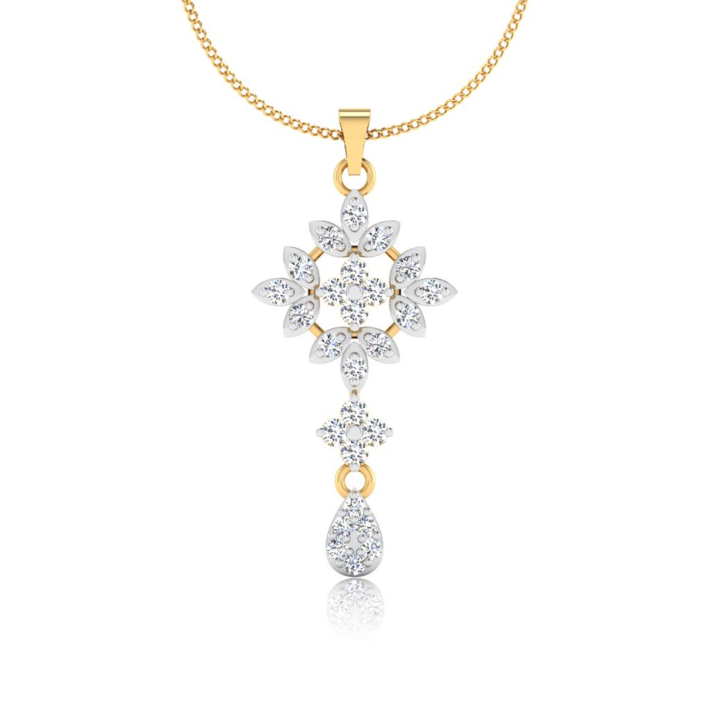 The Samrina Diamond Pendant