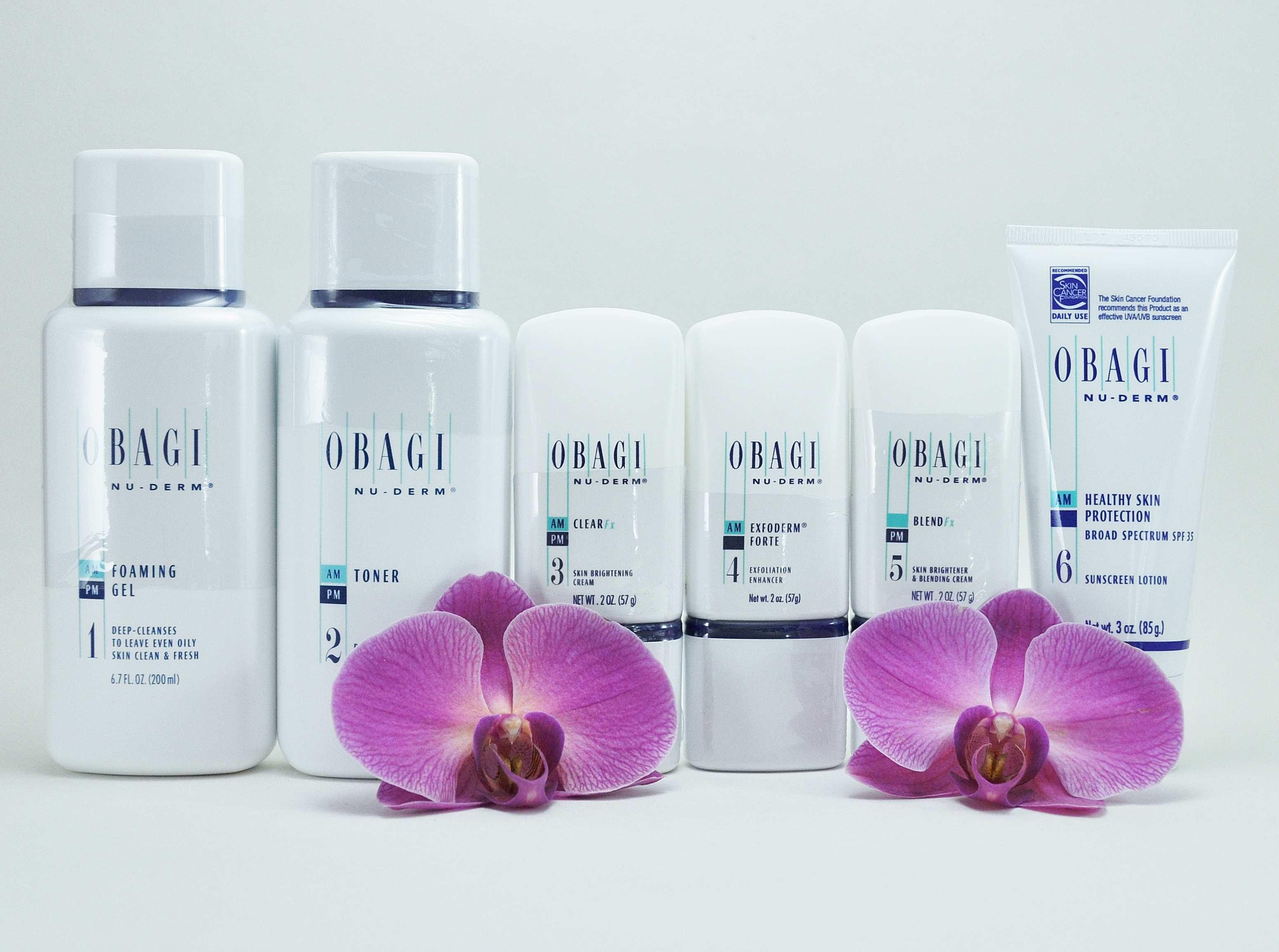Obagi Nu Derm Fx System Kit Of 6 Items For Normal To Oily