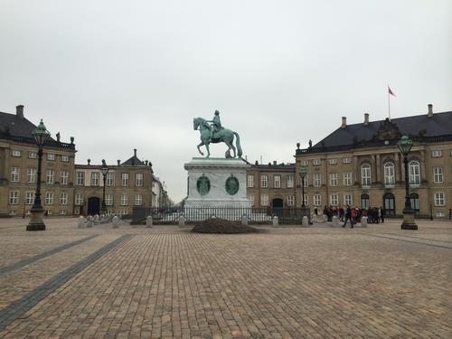 Amalienborg-statue