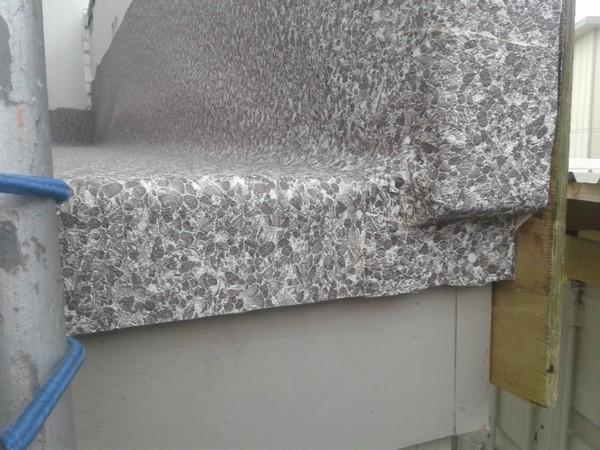 parapet end drip edge detail