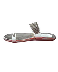 Silver Flats - PartywearFootwear (A6)