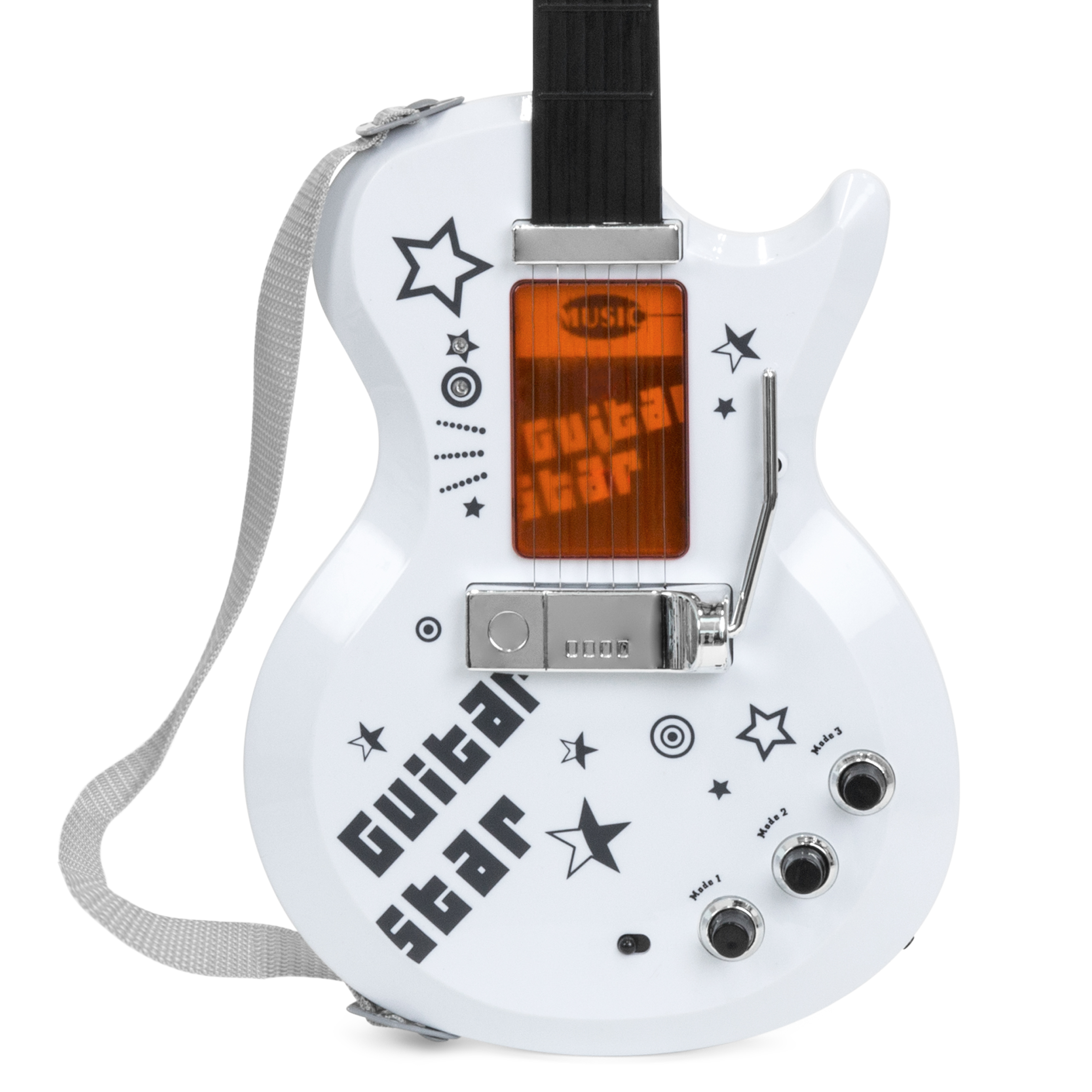 BCP-Kids-Electric-Guitar-Toy-Play-Set-w-6-Songs-Microphone-Amp thumbnail 21