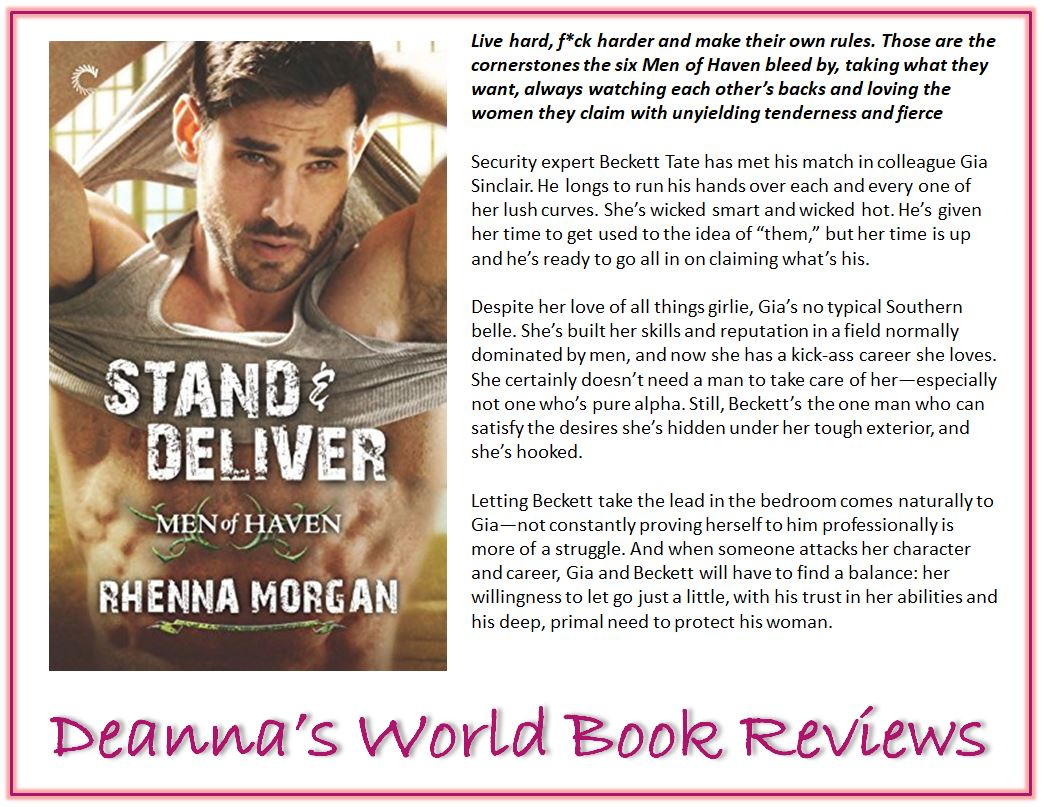 Stand and Deliver by Rhenna Morgan blurb