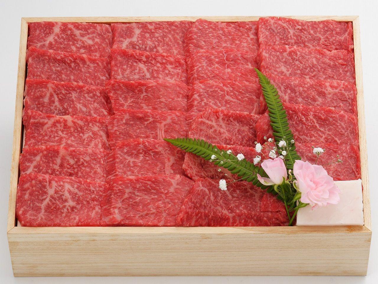 米沢牛 焼肉 赤身 カルビ