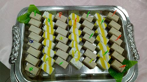 精緻蛋糕拼盤