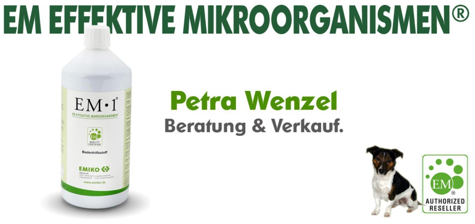 Petra Wenzel - EM-Beratung und Verkauf