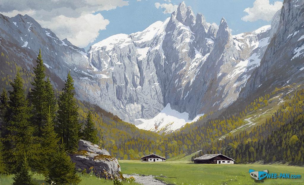 Германия - родина прекрасного пива, это горы и вода и просто природа, всё для пивоварения!..