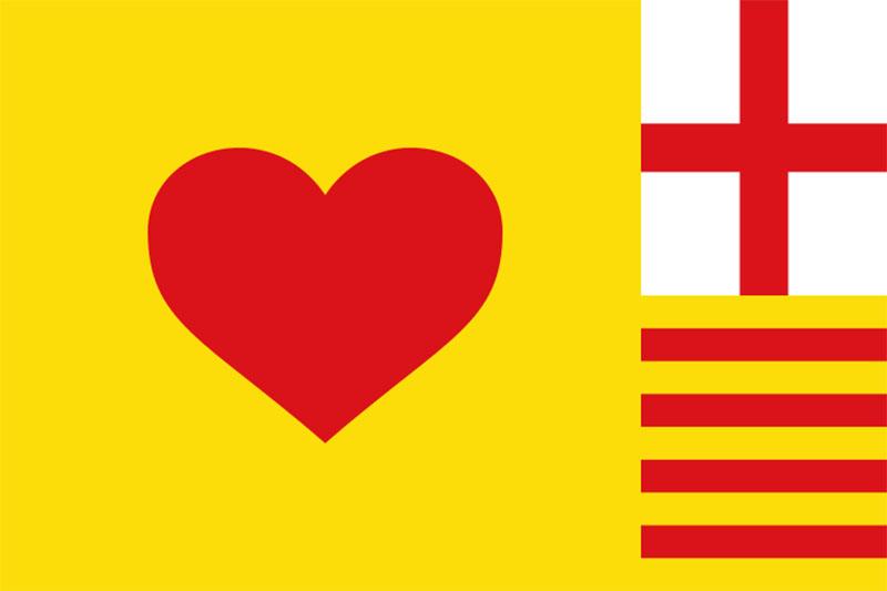 Bandera de Corçà