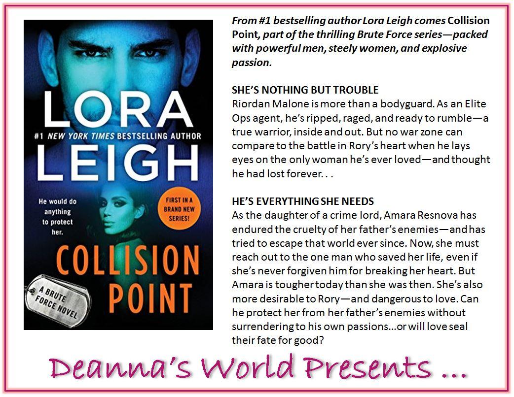Collision Point by Lora Leigh blurb
