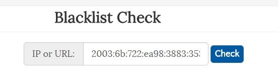 Über verschiedene Dienste kann man prüfen, ob die eigene Domain oder ein Server auf einer Blackliste stehen