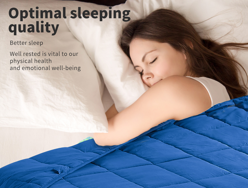 thumbnail 74 - DreamZ Weighted Blanket Heavy Gravity Deep Relax 5/7/9KG Adult Kid Double Queen