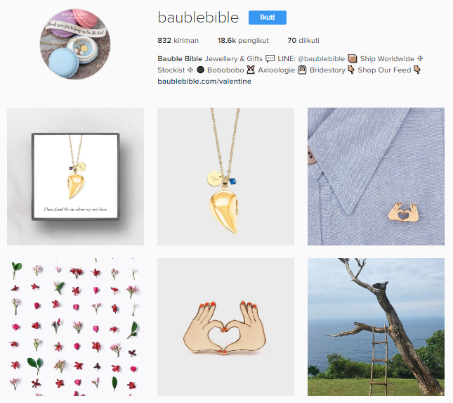 instagram bauble bible