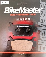Front Brake Pads Bikemaster TRX500FGA FourTrax Foreman Rubicon GPScape 2005 2006